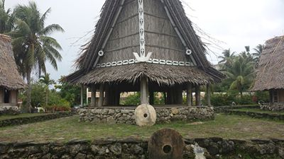 Men's house in Yap